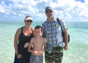 Nicole, Joe and Steve MI find seashells in sw florida