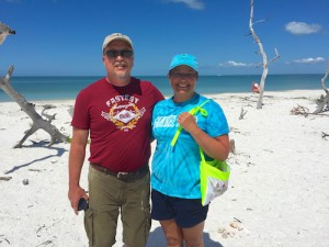 Lisa Bill Ohio on Rambo shelling trip