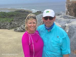 Pam and Clark Rambo explore Okinawa Japan