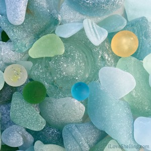 Colors of Sea Glass and Sea Marbles