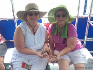 Penny, Carolyn TX shelling trip