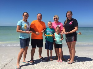 Winners of iLoveShelling and Island Inn giveaway