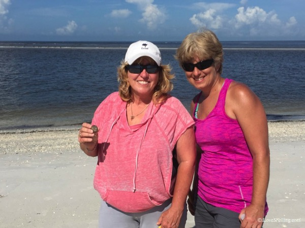 Toni Danielle from Orlando find perfect sharks eye shell