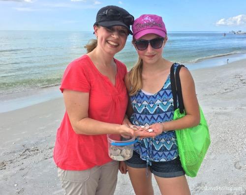 Irma, Joyce Canada visit sanibel for shells