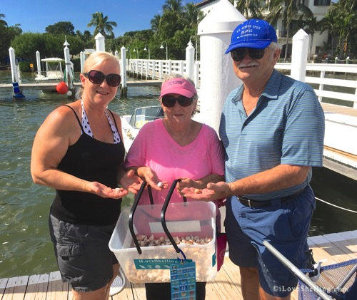 barbara cali, judy, bill ft myers shells