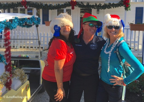 captiva golf cart parade judges 2015