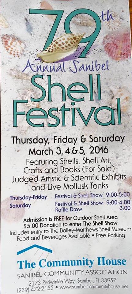 79 annual Sanibel Shell Fair Festival 2016