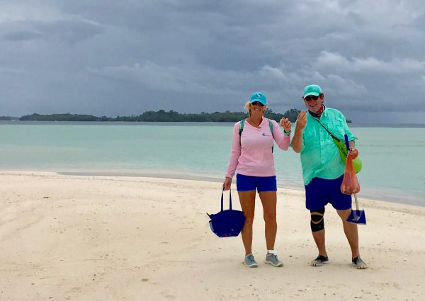 Pam and Clark Rambo Solomon Islands shells
