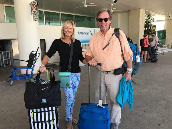 Pam and Clark Rambo travel for seashells