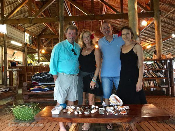 Shell and Tell Solomon Islands Rambo, Rachel and Michael-1