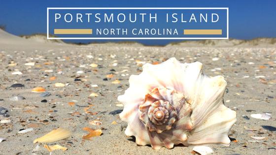portsmouth island nc beachcombing